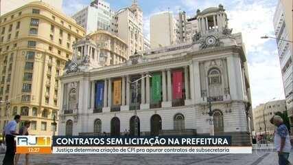 Justiça do Rio determina criação de CPI para apurar contratos de subsecretaria