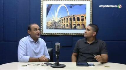 """Presidente do River-PI fala sobre rescisão com gerente de futebol: """"Vamos conversar muito"""""""