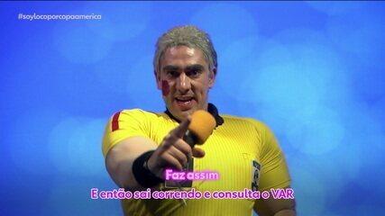 Soy Loco por Copa América: Adnet imita Petkovic, Daronco e participa do Cafezinho