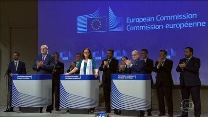 Após 20 anos de negociações, União Europeia e Mercosul fecham acordo comercial