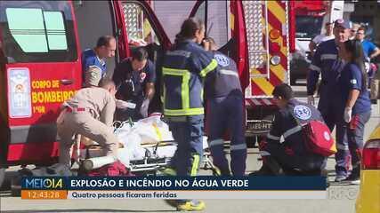 Soldado da PM de folga ajuda no resgate das vítimas de incêndio no Água Verde