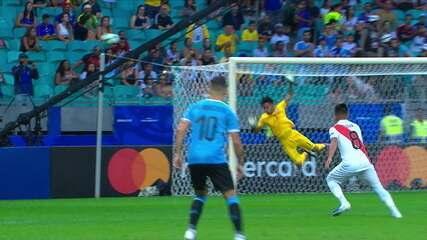 Melhores momentos: Uruguai 0 (4) x (5) 0 Peru pelas quartas de final da Copa América