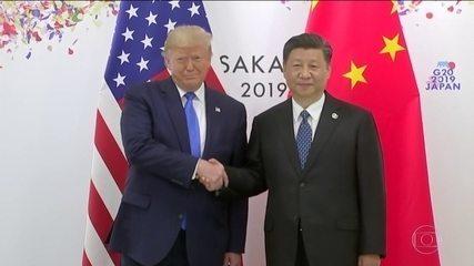 Trump afirma trégua na guerra comercial entre EUA e China