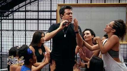 Veja a preparação de Ceará para homenagear Sidney Magal no 'Show dos Famosos'