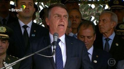 Bolsonaro pede sacrifício de militares para aprovar Reforma da Previdência