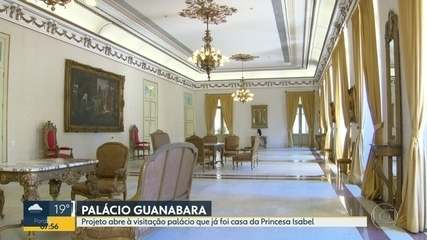 Visitas ao Palácio Guanabara