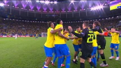É CAMPEÃO!!!! O Brasil é campeão da Copa América! Nove vezes campeão!!!