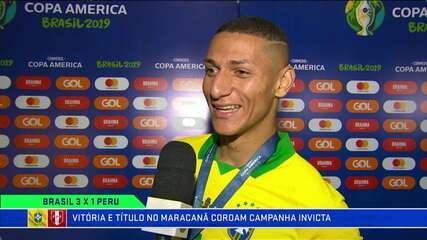 Richarlison relembra trajetória na Copa América, dedica gol à bisavó, mas esquece nome dela