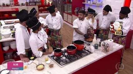 Workshop de comida de boteco com o Chef Bruno Vaz