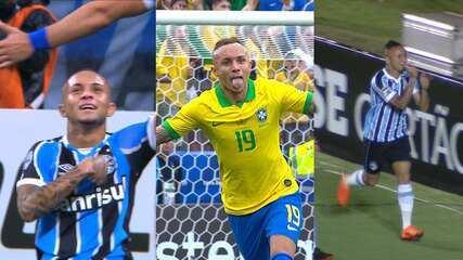 Veja alguns dos gols mais importantes da carreira do Everton Cebolinha desde a chegada ao Grêmio
