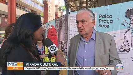 Lançada a programação completa da Virada Cultural de Belo Horizonte deste ano