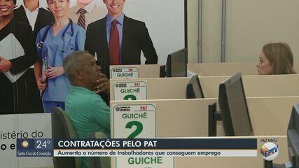 Aumenta em 20% o número de trabalhadores que conseguem emprego pelo PAT de Araras