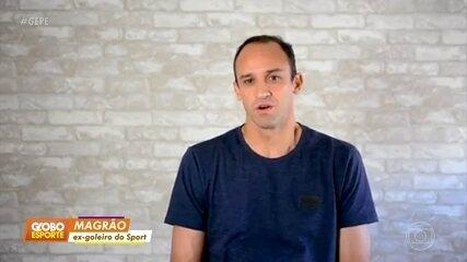 Em vídeo, Magrão se despede do Sport