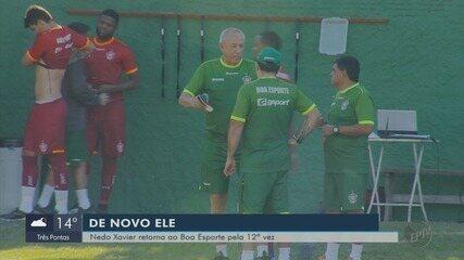 Nedo Xavier inicia sua 10ª passagem como treinador pelo Boa Esporte