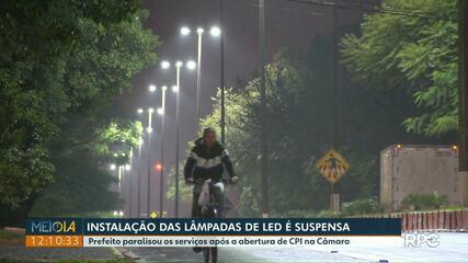 Prefeito suspende instalação de lâmpadas de led após abertura de CPI na Câmara de Vereadores