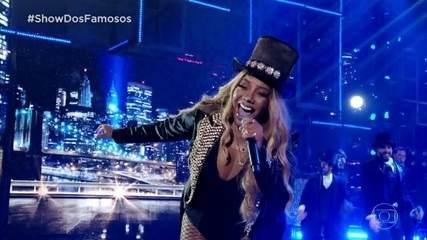 Ludmilla homenageia Beyoncé na final do 'Show dos Famosos'