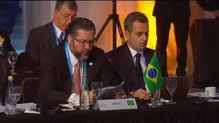 Chanceler Ernesto Araújo diz que Venezuela é 'elefante na sala'