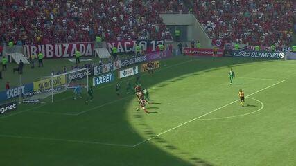 Veja gols de Marco Ruben e Arrascaeta, destaques de Athletico-PR e Flamengo
