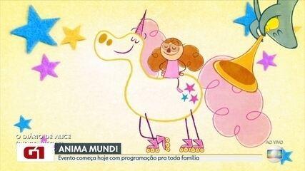G1 no Bom Dia Rio: Anima Mundi começa hoje (17) com programação para toda família