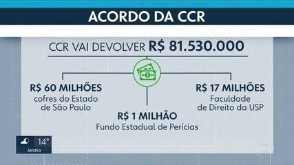 CCR doa R$ 81 milhões para se livrar de ação