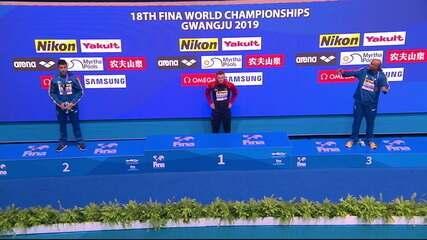 Felipe Lima e João Gomes são prata e bronze no Campeonato Mundial de natação