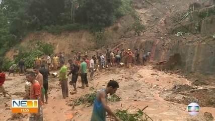 Chuvas intensas deixam mortos e feridos em Abreu e Lima