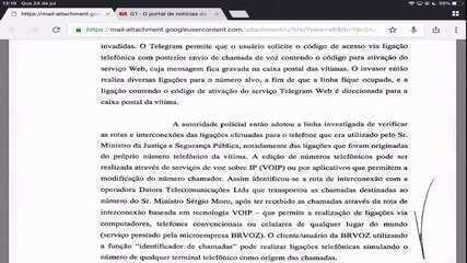 Entenda o que 'spoofing', técnica usada por suspeitos que hackearam o celular de Moro