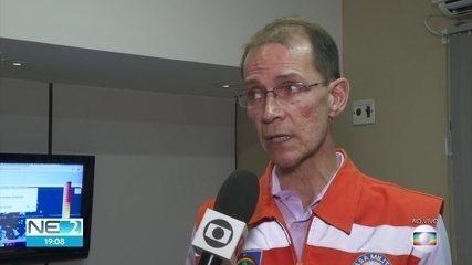 Mais de 1,2 mil pessoas ficam desalojadas por conta das chuvas no Grande Recife