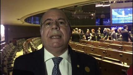 Deputado do MDB briga com segurança da Câmara por causa de cadeira