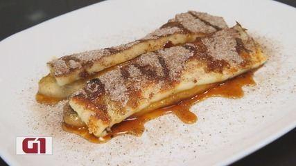 Culinaria #013: Aprenda a fazer uma cartola, sobremesa feita com banana