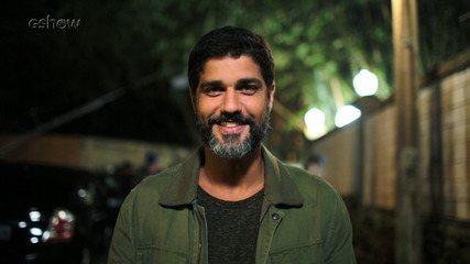 Bruno Cabrerizo fala sobre a volta de Hussein e agradece apoio do público