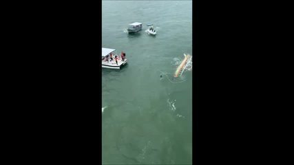 Acidente com Catamarã deixa mortos e feridos em Alagoas