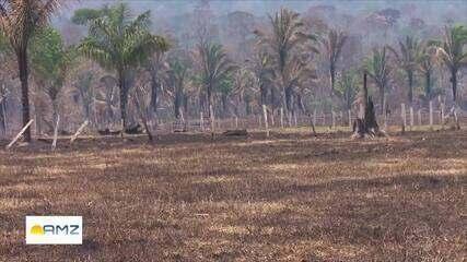 Úmidade relativa do ar está abaixo de 30% em Rondônia