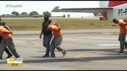 Detentos envolvidos no massacre em presídio de Altamira são transferidos para Belém