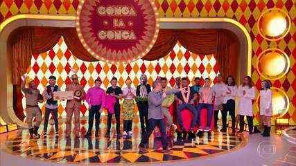Angélica é jurada no quadro 'Gonga La Gonga', do Caldeirão do Huck