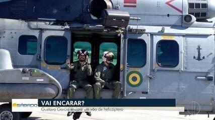 'Vai Encarar?': Gustavo Garcia encara vôo de helicóptero