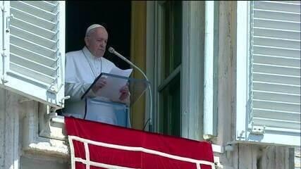 Papa Francisco lembra vítimas dos ataques nos Estados Unidos