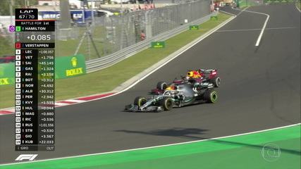Impressionante, Lewis Hamilton! Inglês tira mais de 20 segundos e ultrapassa Verstappen