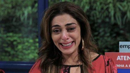 Juliana Paes e Agatha Moreira se emocionam ao falar sobre a cena da surra de Jô
