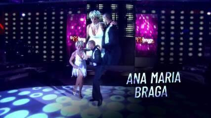 Ana Maria Braga relembra participação no 'Dança dos Famosos'