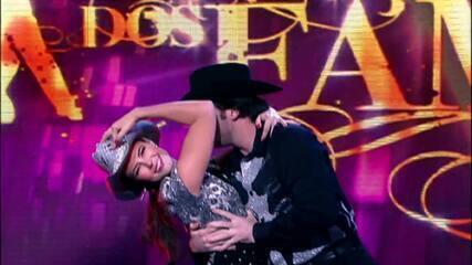 Paolla Oliveira relembra participação no 'Dança dos Famosos'