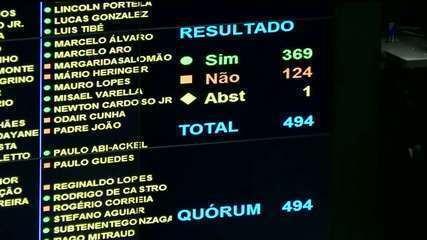 Câmara conclui votação da reforma da Previdência e projeto segue para o Senado