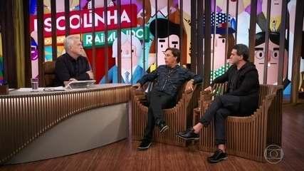 Tom Cavalcante e Marcos Veras falam sobre o humor politicamente correto