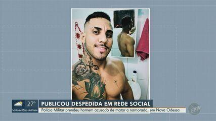 PM prende suspeito de matar a namorada em Santa Bárbara d'Oeste