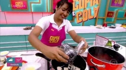 Galera se desdobra para reproduzir prato do chef Marco Espinoza