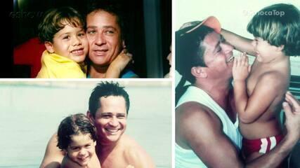 Leonardo e Zé Felipe desejam um Feliz dia dos Pais