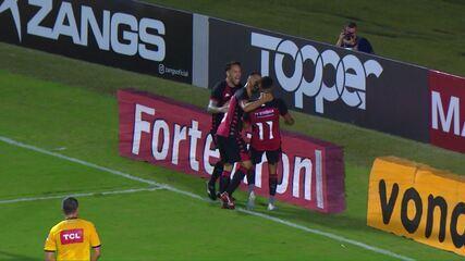Os gols de Vitória 2 x 0 Paraná, pela 15ª rodada da Série B