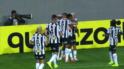 Os gols de Atlético-MG 2 x 1 Fluminense pela 14ª rodada do Brasileirão