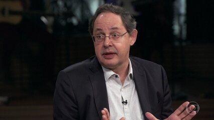 Eduardo Giannetti apresenta proposta a Paulo Guedes
