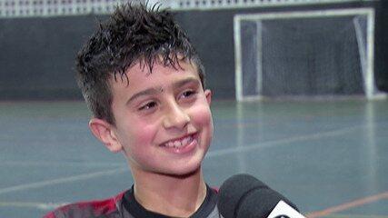 Jovem de Mogi vai jogar na base do futsal do Benfica